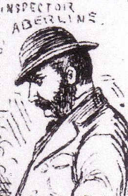 Inspector Frederick Abberline from   The Illustrated Police News