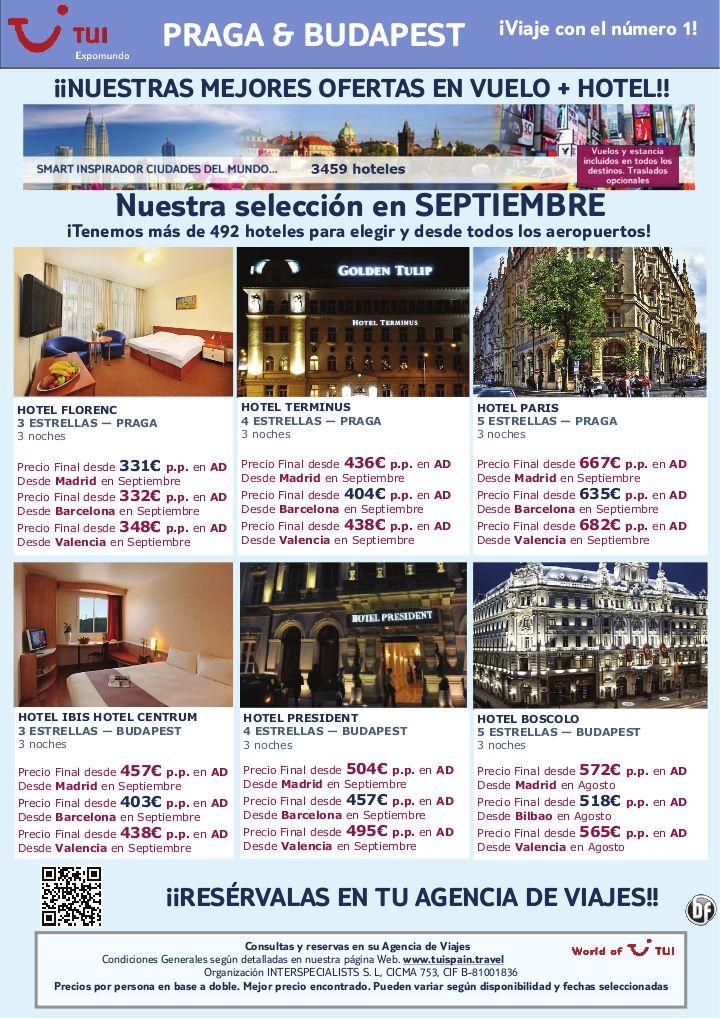vuelo + hotel en Praga  Budapest salidas en Septiembre. Precio final desde 331€ - http://zocotours.com/vuelo-hotel-en-praga-budapest-salidas-en-septiembre-precio-final-desde-331e/