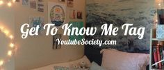 The Get To Know Me Tag is one of the most popular tags on YouTube right now! Check out the 25 Get To Know Me Questions in this tag right here!