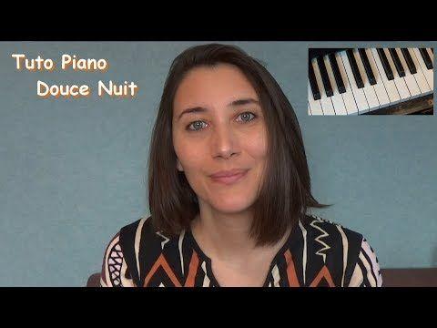 Tuto : douce nuit piano (débutant) super facile - YouTube
