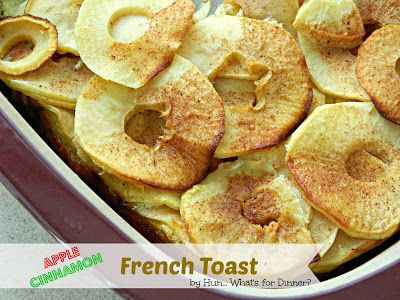 Pampered Chef Apple Cinnamon French Toast: Hun... What's for Dinner?