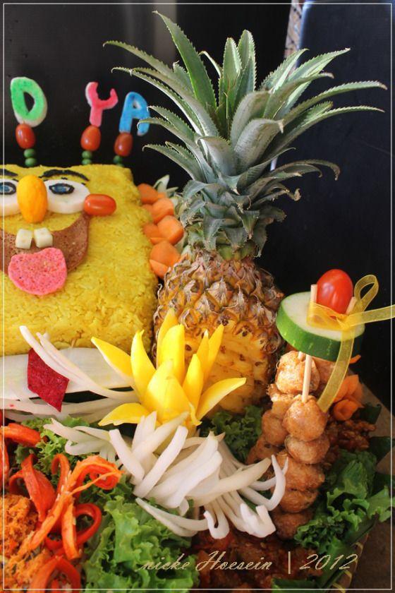 Sponge Bob Tumpeng