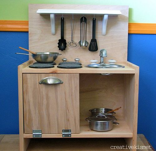 DIY IKEA Rast Play Kitchen