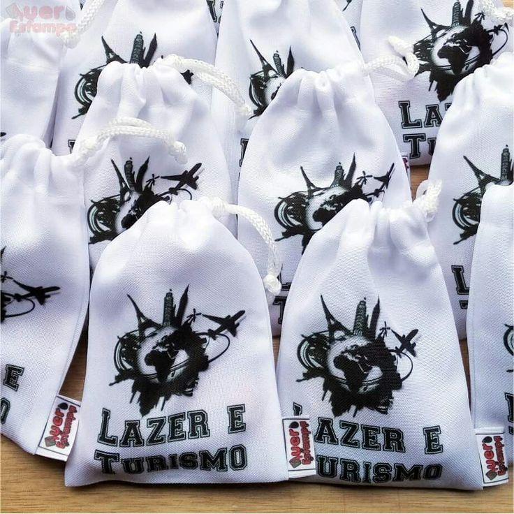 Saquinho surpresa / Surprise bag - personalizado por Quero estampas