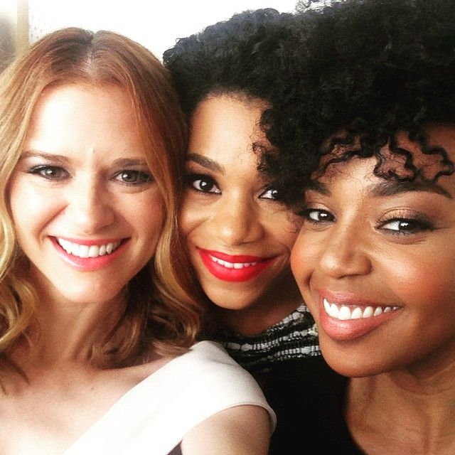 Sarah Drew, Kelly McCreary, and Jerrika Hinton