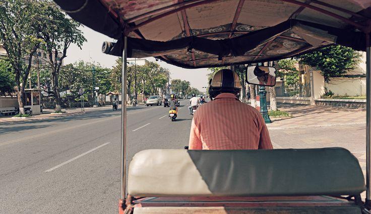 Mit dem Tuk-Tuk durch Phnom Penh