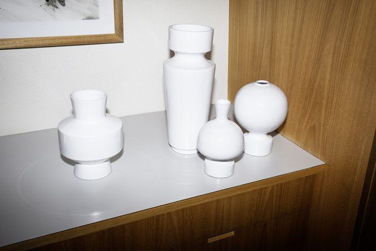 V18   V63   V51   V9/3   captured by Pierluigi Macor  | Linck Ceramics | Handcrafted | Switzerland | Design by Margrit Linck (1897-1983)