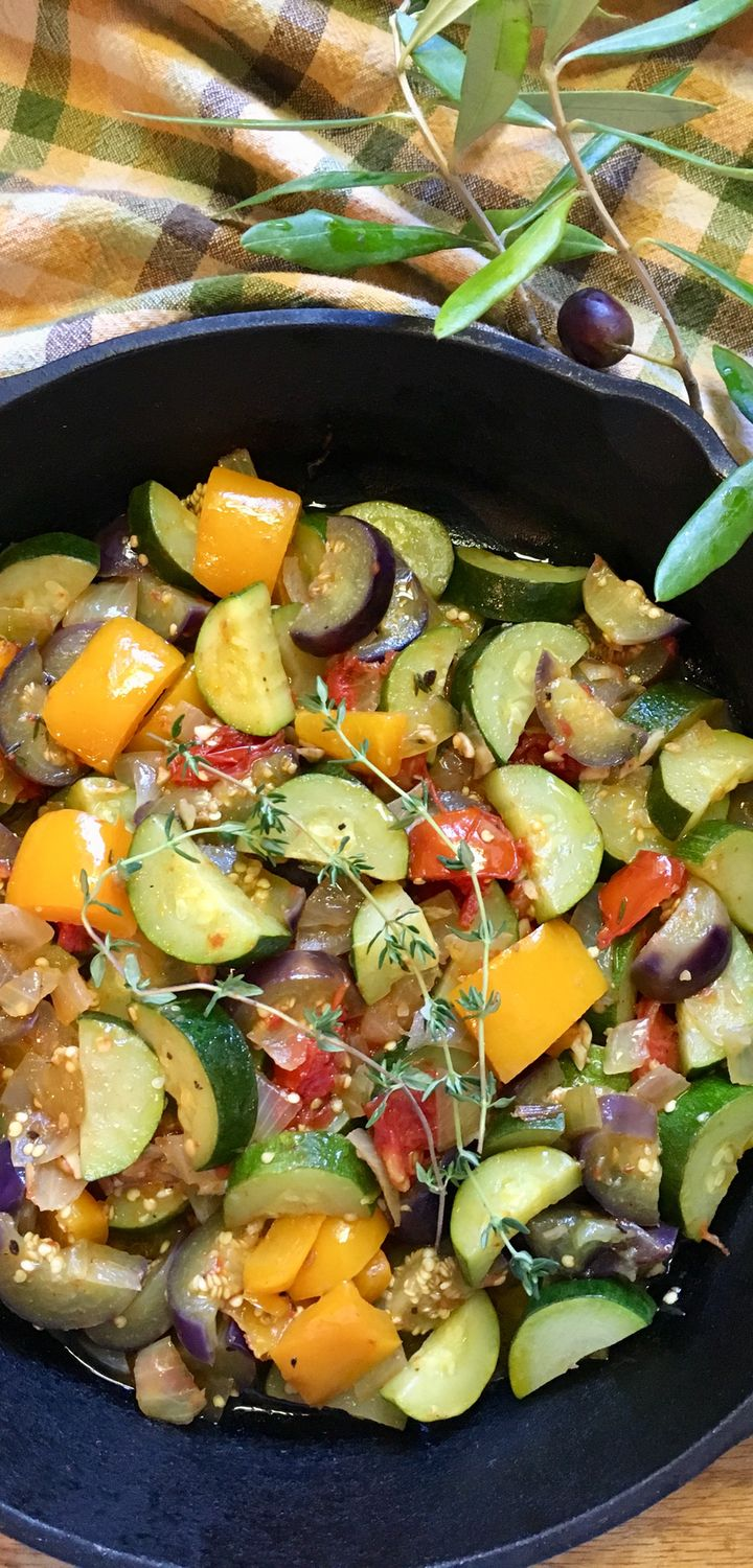 Ratatouille Saute - the Quick and Easy Way - Powered by @ultimaterecipe