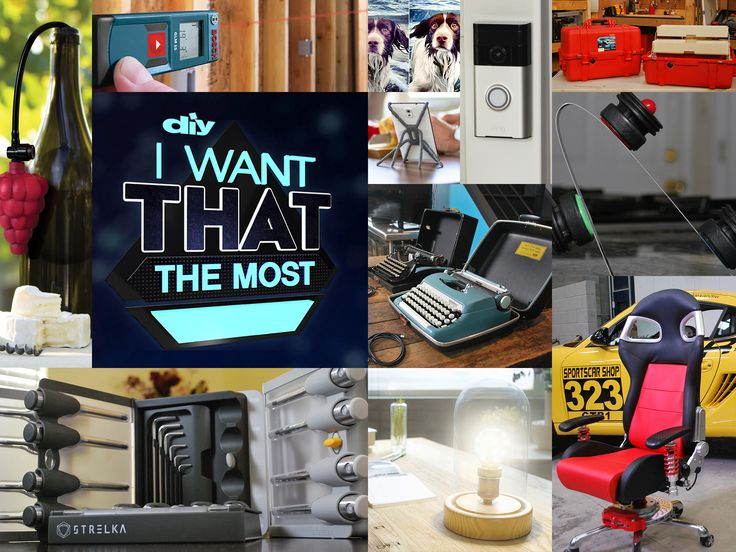See what top products and gadgets our friends at DIY Network have on their wish list this year from the special I Want That the Most.