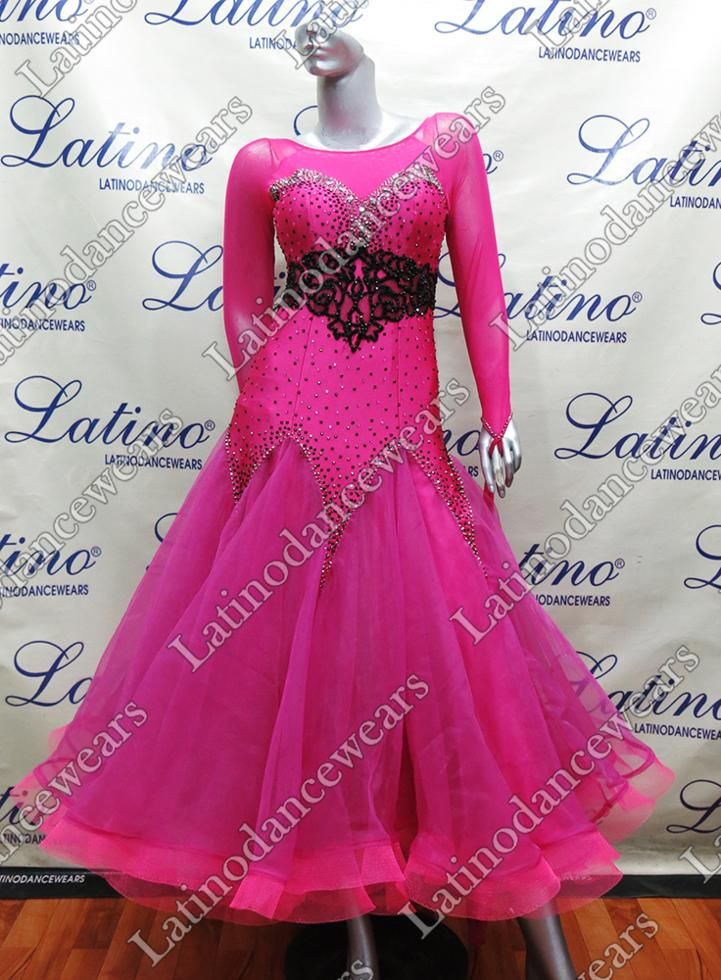 BALLROOM COMPETITION DRESS LDW (ST238) BALLROOM-COMPETITION-DRESS-LDW-ST238 Latino Dancewears
