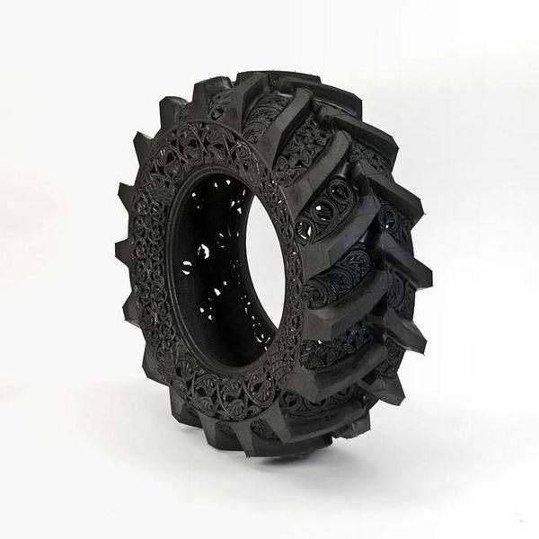 Les pneus détournés de Wim Delvoye