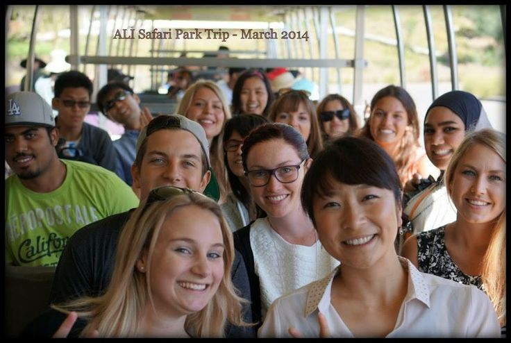 #ALI students take a trip to the San Diego Zoo Safari Park