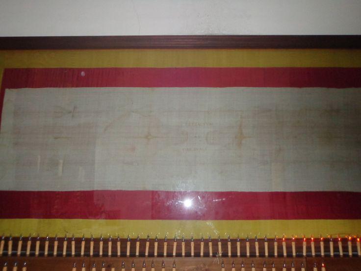 La Sindone - ein Abdruck des Leichentuchs Christi (keine Kopie, ein Original-Abdruck!!) - in Arquata