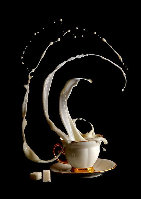 Coffee Time: Mind-Boggling Photo Series by Egor N