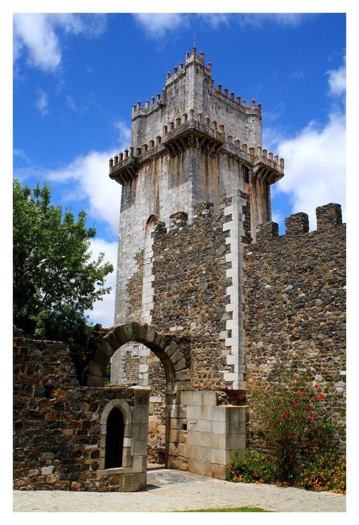 Beja Castle IBeja - Baixo ALENTEJO, PORTUGAL by FilipaGrilo