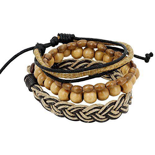 Mens Bracelet Costume Jewelry Accessories Unique Gifts Ideas for Boyfriend ShalinIndia http://www.amazon.com/dp/B00PFG7BMO/ref=cm_sw_r_pi_dp_pwKJvb1GJKCAG