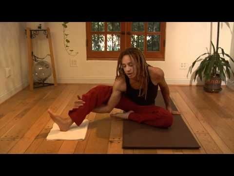 ▶ Resistance Stretching - Medial Hamstring Stretch - Pancreas Stretch - YouTube