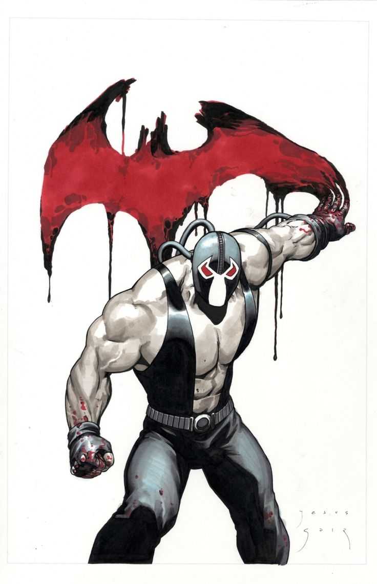 Blood and Bane. #bane #batman #villain