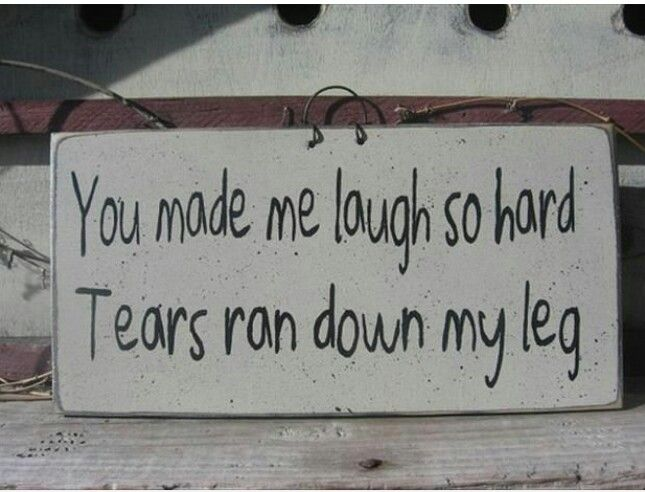You made me laugh so hard...