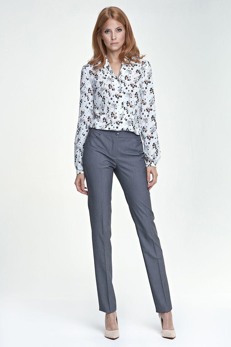 pantalon pour femme coupe fusel e casual chic fashion. Black Bedroom Furniture Sets. Home Design Ideas