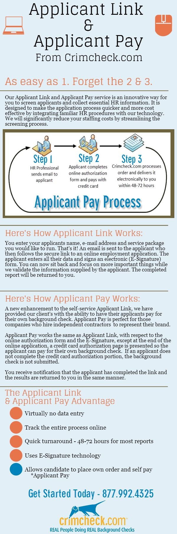 Infographic  Why You Should Use CrimcheckCom For Your