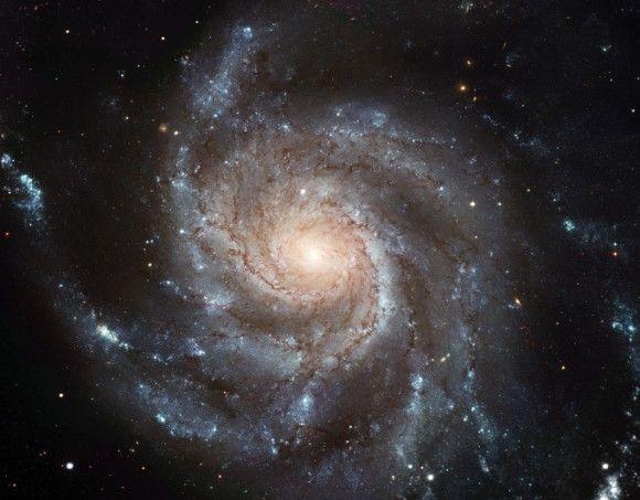 Found! Seven Dwarfs Surround The 'Pinwheel Galaxy' Field Of View