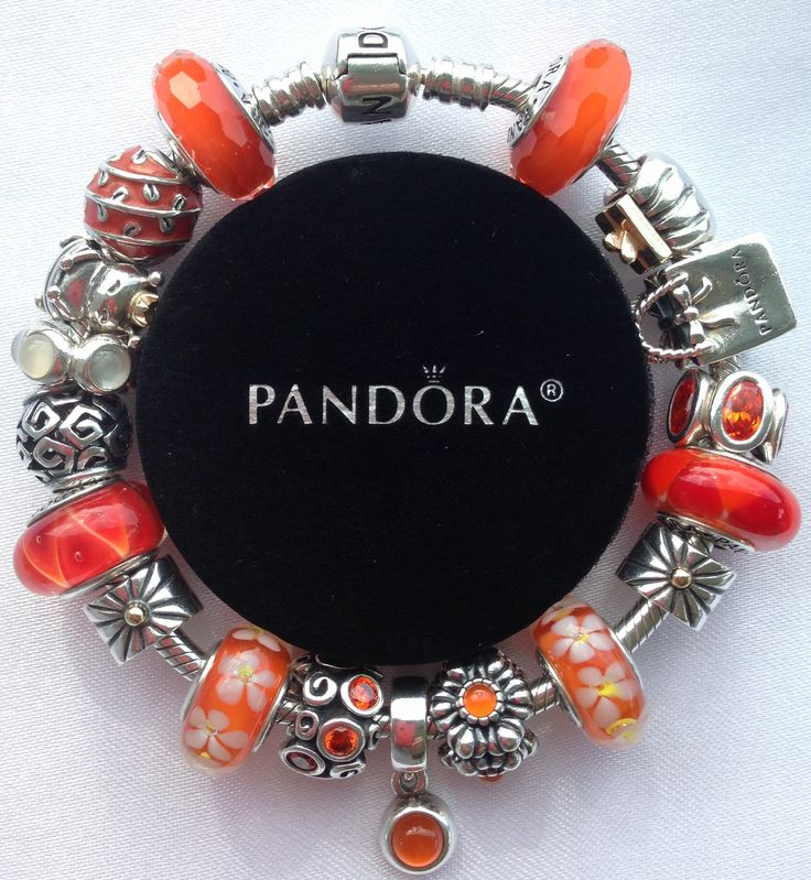 My Pandora Shop like a Queen Bee and Orange