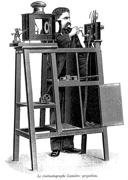 13 février 1895 : les frères Lumière déposent le brevet du cinématographe.