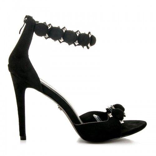 Dámské sandály Seastar Mystana černé – černá Více ženské sandály nemůžete ani najít. Dámské sandály se zdobením a v krásné barvě se výborně hodí především na večírky. Sandály s vysokým jehlovým podpatkem jsou vhodné především …