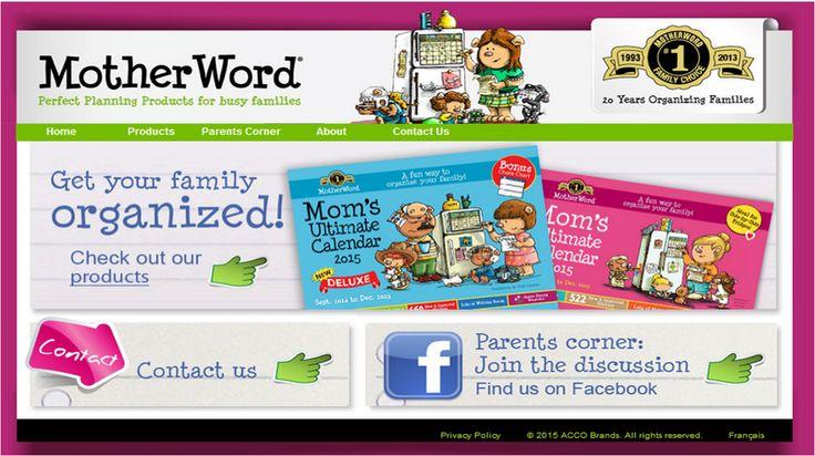 Acco Brands - Motherword.com Web Site