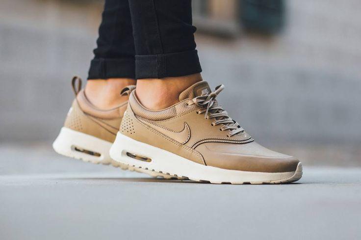 Nike Wmns Air Max Thea Premium Desert Camo Sneakers