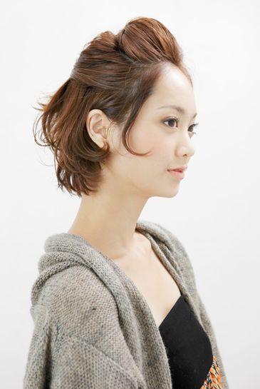 長い前髪だからできる簡単かわいいヘアアレンジまとめ マシマロ