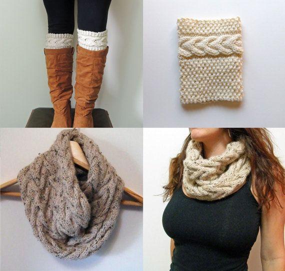 2 Knitting Patterns Grace Boot Cuffs Knitting by LewisKnits, $9.25........want!!!