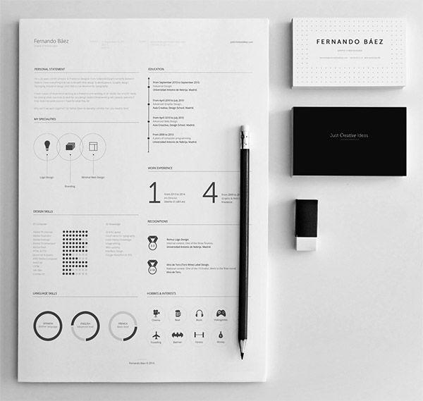Free Resume Template by Fernando Báez