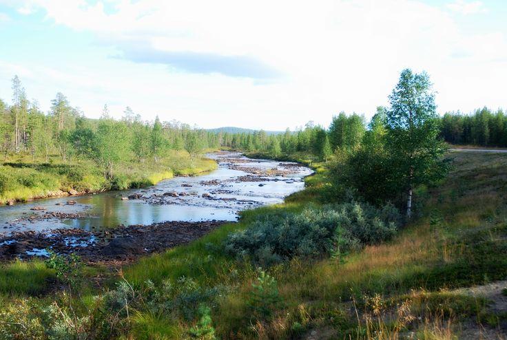 #north #finland #water #suomi #myownpin #roadtrip