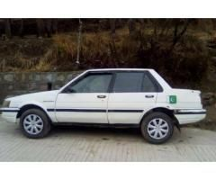 Toyota Corolla 1986 White Color New Seats And Tyre For Sale In Islamabad