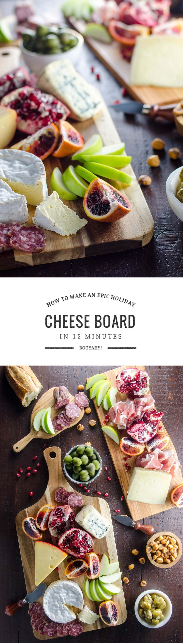A big, beautiful cheese platter is an easy way to amp up your party game. Here's how to create an epic cheese board in just a few minutes.