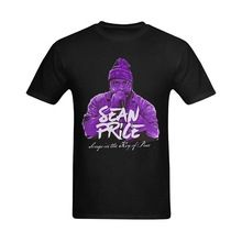 2017 Cotton Men t-Shirt Casual Man Tees Mens Tops Men Sean Price Classical Image Fashionable Design T-Shirts Men T Shirt Round(China (Mainland))