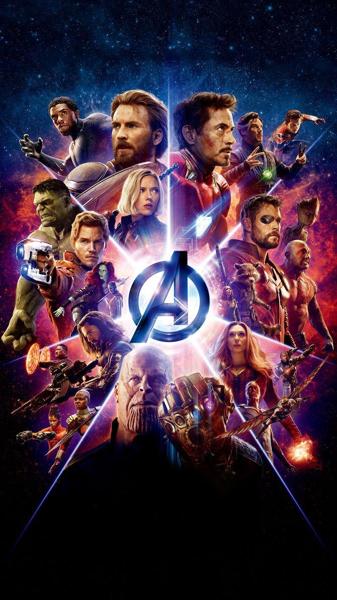 Avengers Infinity War (2018) Phone Wallpaper Avengers