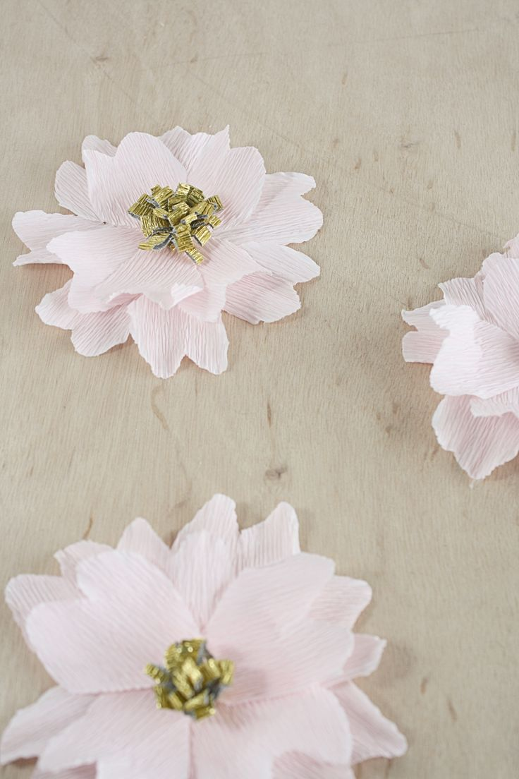 98 best crepe paper flowers images on pinterest crepe paper i fell in love with crepe paper recently i ordered some online in an assortment of pretty colors pink gold cream and emerald green dhlflorist Image collections