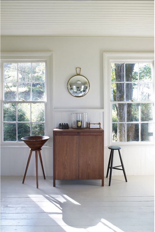 //: Spanish Design, Window Ideas, Convex Mirror, Small Places, Ceilings Details, Upstate New York, Storage Cabinets, Danishes Living Rooms, Danishes Modern