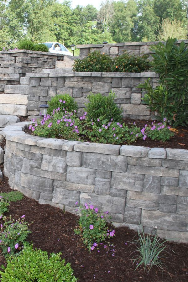 The RosettaR Belvedere Collection Is An Ideal Choice For Garden Retaining Walls Featuring Multiple Unit Sizes Along With Industry Leading 64 Unique