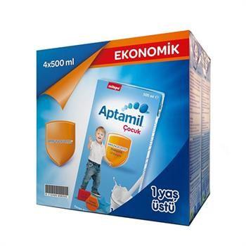 Aptamil 4 Çocuk Sütü (Sıvı) 4*500 Ml