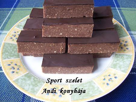 Sport szelet - Andi konyhája - Sütemény és ételreceptek képekkel
