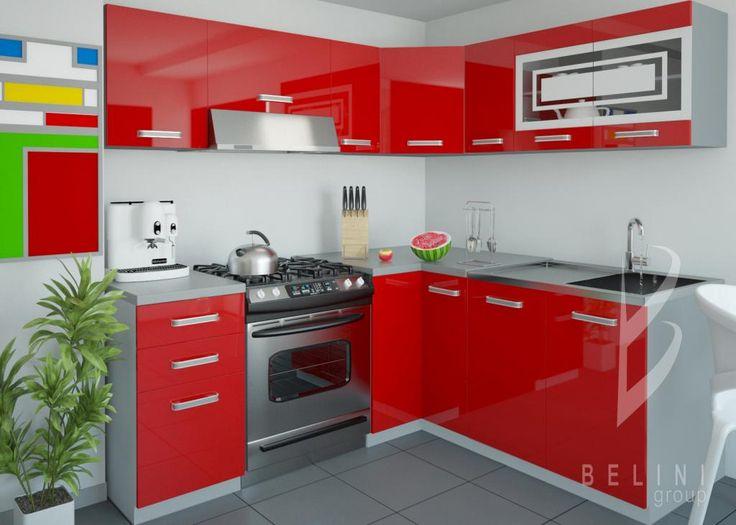 Kuchnia kuchnie meble kuchenne POŁYSK 3,6m BELINI