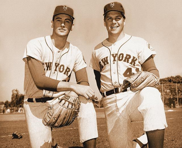 Nolan Ryan and Tom Seaver, New York Mets, 1969