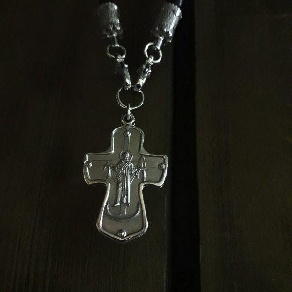 Крест- ковчег для крестильного креста, белое золото. |  Кустодия-творческая мастерская. Ювелирные украшения ручной работы. Кресты православные золотые и серебряные.