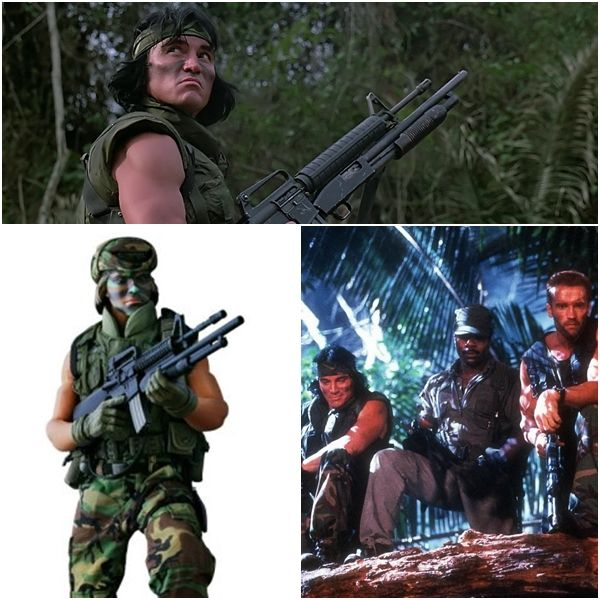 Sonny Landham As Billy Sole. Predator Movie Figure