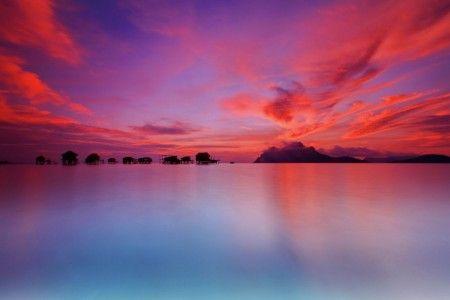 Muslianshah Bin Masrie: Sunrise Captured at Maiga Island Malaysia,