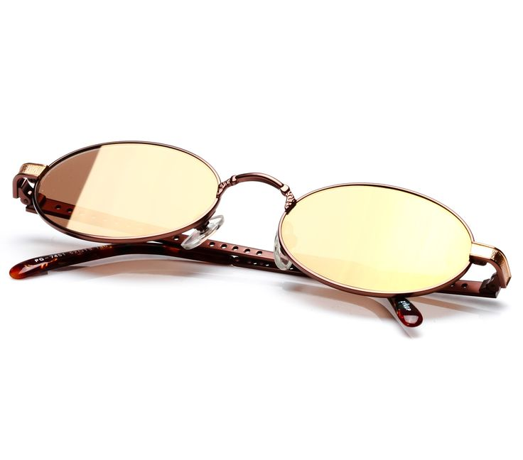 Paolo Gucci 7451 (Brown Flash Gold)